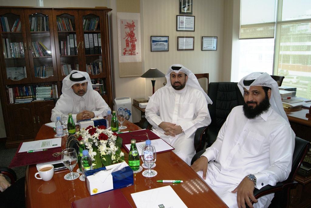Board meeting of Bait Al-Mashura
