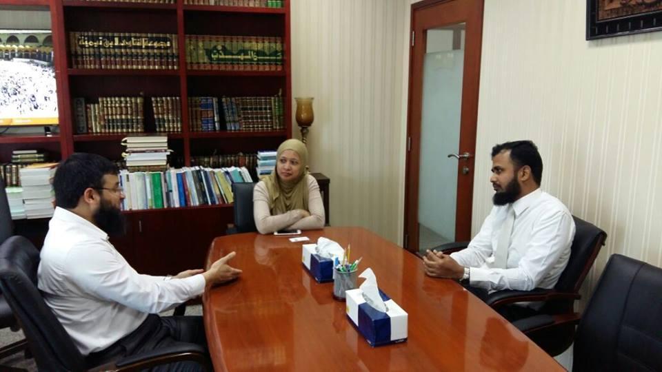 خلال زيارتها القصيرة إلى قطر